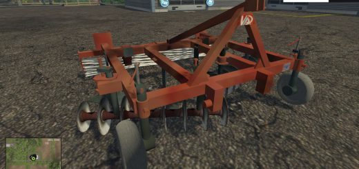 С/Х инвентарь для Мод культиватор навесной АПК-3 для Farming Simulator 2015