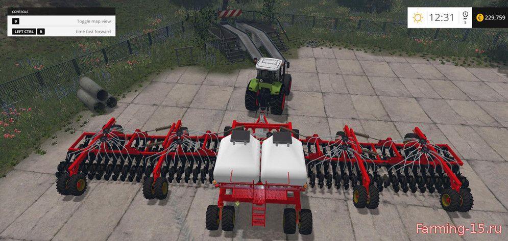 С/Х инвентарь для Мод большая сеялка Bourgault AD22 для Farming Simulator 2015