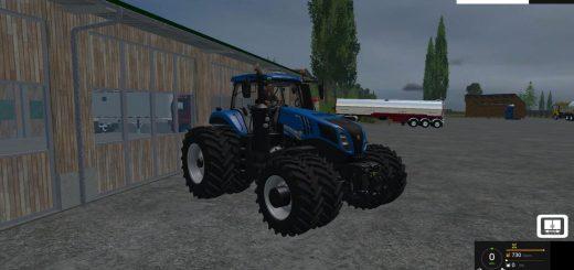 Тракторы для Мод трактор New Holland T8 435 для Farming Simulator 2015