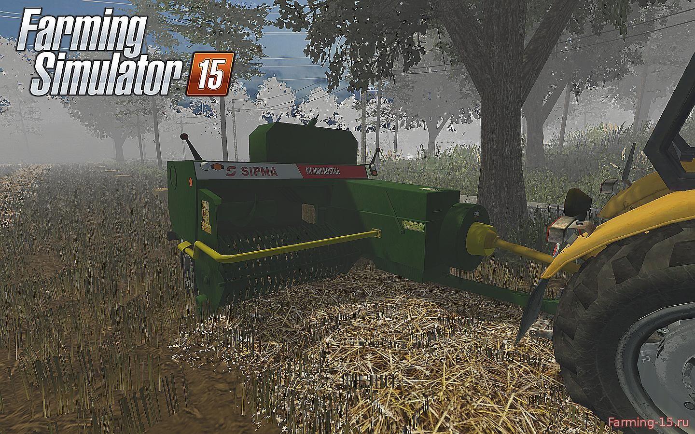 С/Х инвентарь для Мод тюкопресс квадратных тюков для Farming Simulator 2015