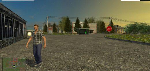 Русские карты для Карта Хасапетовка v1.1 для Farming Simulator 2015
