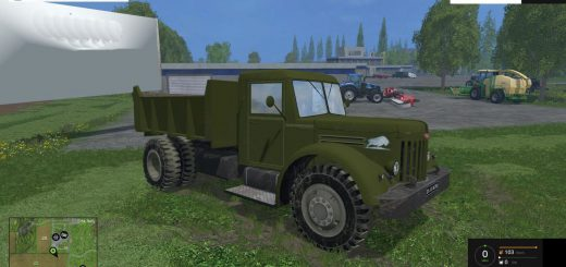 Русская техника для Мод грузовик МАЗ 205 v1.0 для Farming Simulator 2015