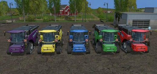 Комбайны для Мод комбайн New Holland CR1090 для Farming Simulator 2015