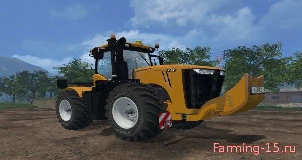 Тракторы для Мод трактор CAT Challenger MT 975 для Farming Simulator 2015