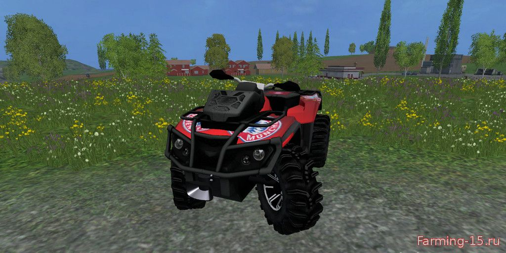 Машины для Мод Квадроцикл «CanAm FCB» v1.0 для Farming Simulator 2015