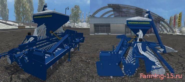 С/Х инвентарь для Мод сеялка Rabe Turbo Drill для Farming Simulator 2015
