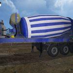 Мод прицепная бетономешалка для Farming Simulator 2015