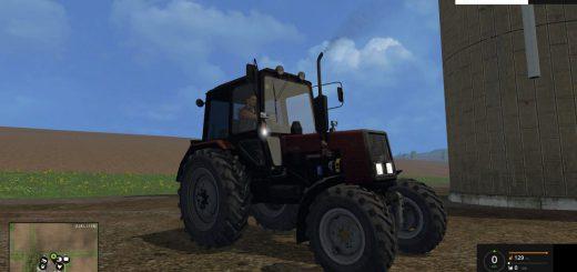 Русская техника для Мод трактор  Беларус 820 для Farming Simulator 2015