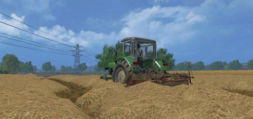 С/Х инвентарь для Мод Навесной валкоукладчик для Farming Simulator 2015