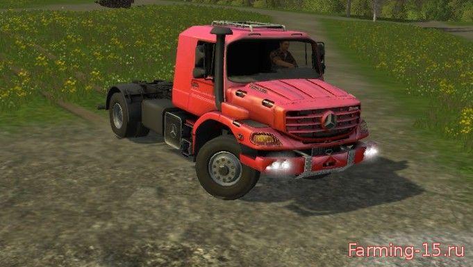 Грузовики для Мод тягач Mercedes Zetros для Farming Simulator 2015