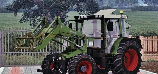Погрузчики для Мод трактор-погрузчик Fendt 380 GTA Turbo для Farming Simulator 2015