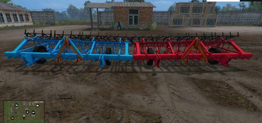 С/Х инвентарь для Мод культиватор КПС-4 для Farming Simulator 2015