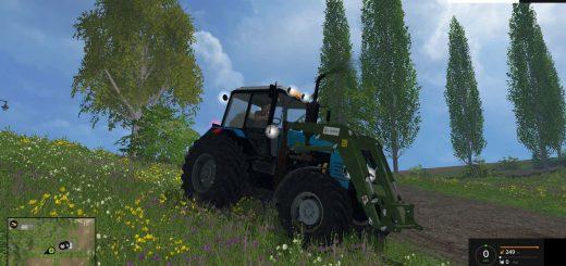 Русская техника для Мод трактор Беларус 1221 для Farming Simulator 2015