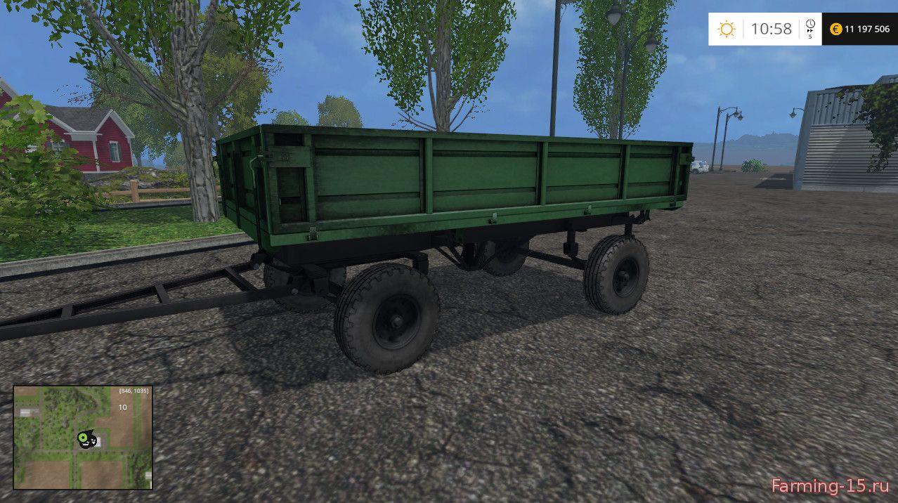 Прицепы для Мод прицеп 2ПТС-4 для Farming Simulator 2015