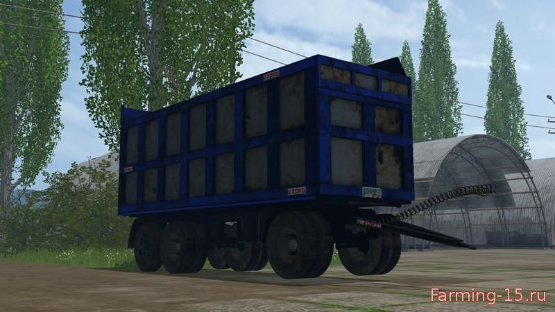 Прицепы для Мод прицеп Zorzi Old для Farming Simulator 2015
