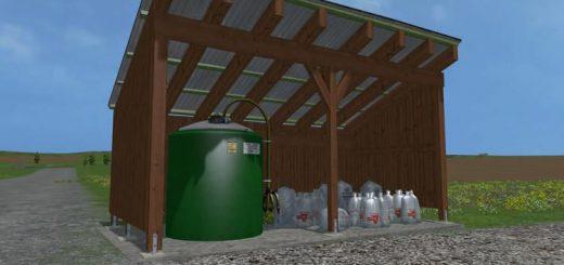 Объекты для карт для Мод пункт заправки удобрениями для Farming Simulator 2015