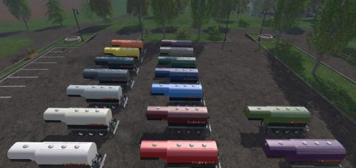 Цистерны для Мод цистерна «Enjoy Saddletrailer» для Farming Simulator 2015