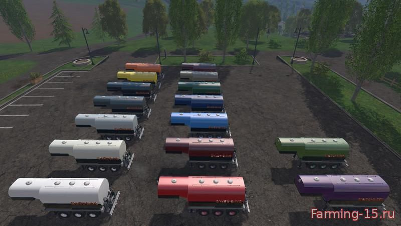Цистерны для Мод цистерна «Enjoy Saddletrailer» для Farming Simulator 2015