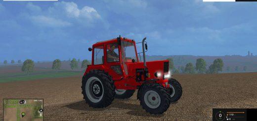 Русская техника для Мод трактор МТЗ 552Е v 2.1 для Farming Simulator 2015