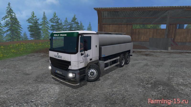 Цистерны для Мод грузовик молоковоз для Farming Simulator 2015