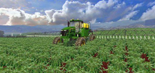 Техника для удобрений для Мод опрыскиватель John Deere 4730 Sprayer для Farming Simulator 2015