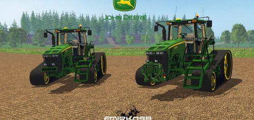 Тракторы для Мод гусеничный трактор John Deere 8430T v1.0 для Farming Simulator 2015