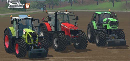 Тракторы для Мод-пак больших тракторов V1.0 для Farming Simulator 2015