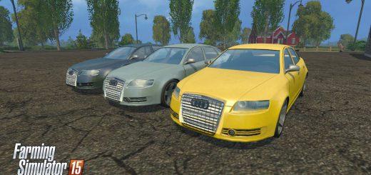 Машины для Мод машина Audi A6 V1.1 для Farming Simulator 2015