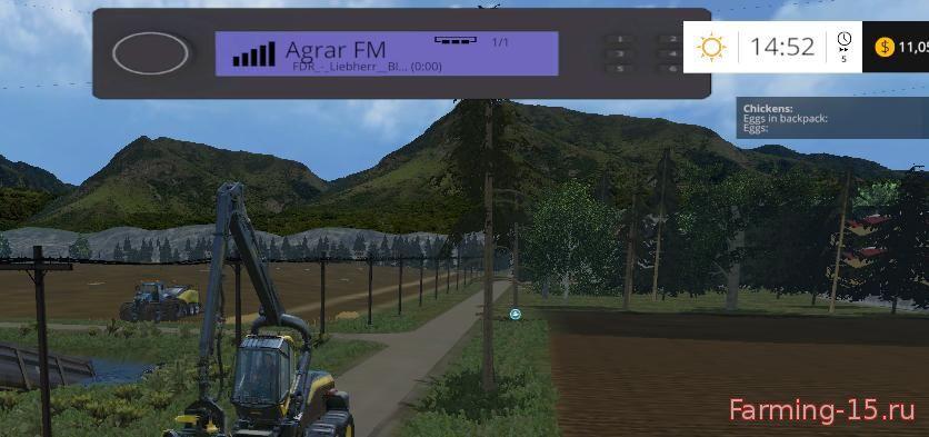 Другие моды для Мод на радио-плеер для Farming Simulator 2015