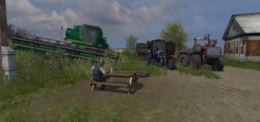 Русские карты для Русская карта Бухалово 2 для Farming Simulator 2015