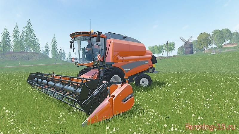 Комбайны для Мод комбайн Valtra BC 4500 v1.1 для Farming Simulator 2015