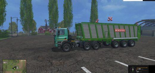 Прицепы для Мод прицеп Bergmann HTW 85 для Farming Simulator 2015