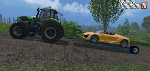 Прицепы для Мод прицеп-платформа Tailings v2.0 для Farming Simulator 2015