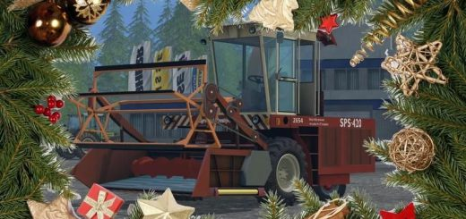Комбайны для Мод кормоуборочный комбайн SPS 420 v1.0 для Farming Simulator 2015