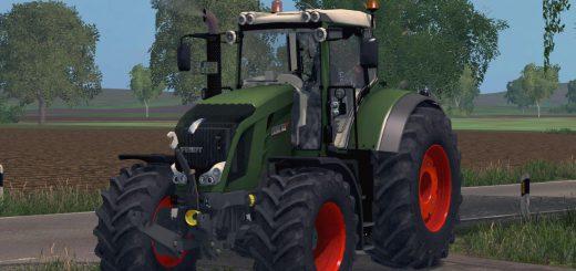 Тракторы для Мод трактор Fendt 822 VARIO v1.0 для Farming Simulator 2015