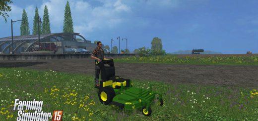С/Х инвентарь для Мод самоходная газонокосилка John Deere Walkbehind 1.0 для Farming Simulator 2015