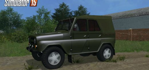 Русская техника для Мод машина УАЗ-469 V1.0 для Farming Simulator 2015