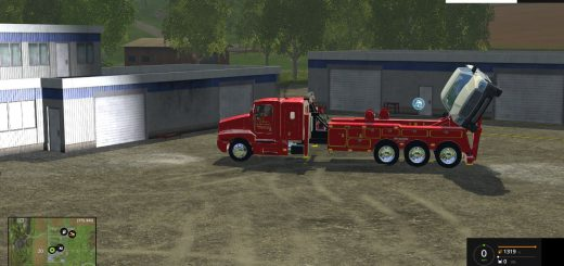 Грузовики для Мод грузовик-эвакуатор для Farming Simulator 2015