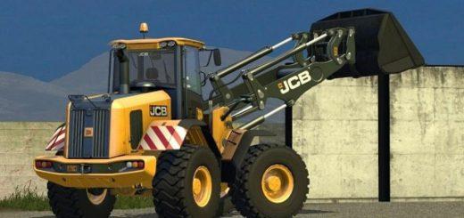 Погрузчики для Мод погрузчик JCB 435S v1.0 для Farming Simulator 2015