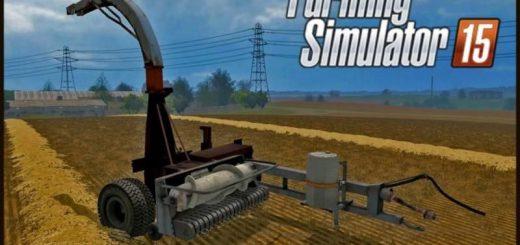 Русская техника для Мод погрузчик-комбайн КПКУ-75 v3.0.1 для Farming Simulator 2015
