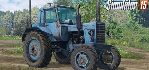 Русская техника для Мод трактор МТЗ 82 v2.0 для Farming Simulator 2015