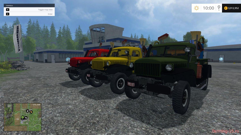 Грузовики для Мод грузовик Dodge WM 300 для Farming Simulator 2015