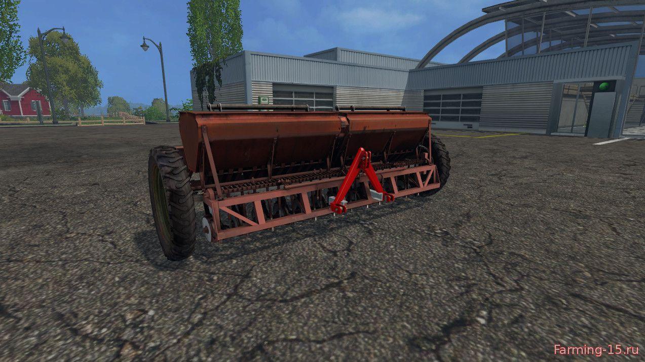 С/Х инвентарь для Мод сеялка Астра СЗТ 3.6А V1.0 для Farming Simulator 2015