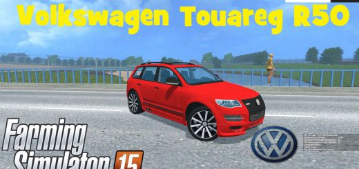 Машины для Мод машина Volkswagen Touareg R50 v1.0 для Farming Simulator 2015
