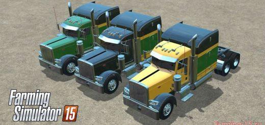 Грузовики для Мод-пак грузовиков Peterbilt 388 v1.0 для Farming Simulator 2015