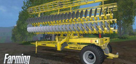 С/Х инвентарь для Мод культиватор Lemken Grubbergigant 2015 15m v1.1 для Farming Simulator 2015