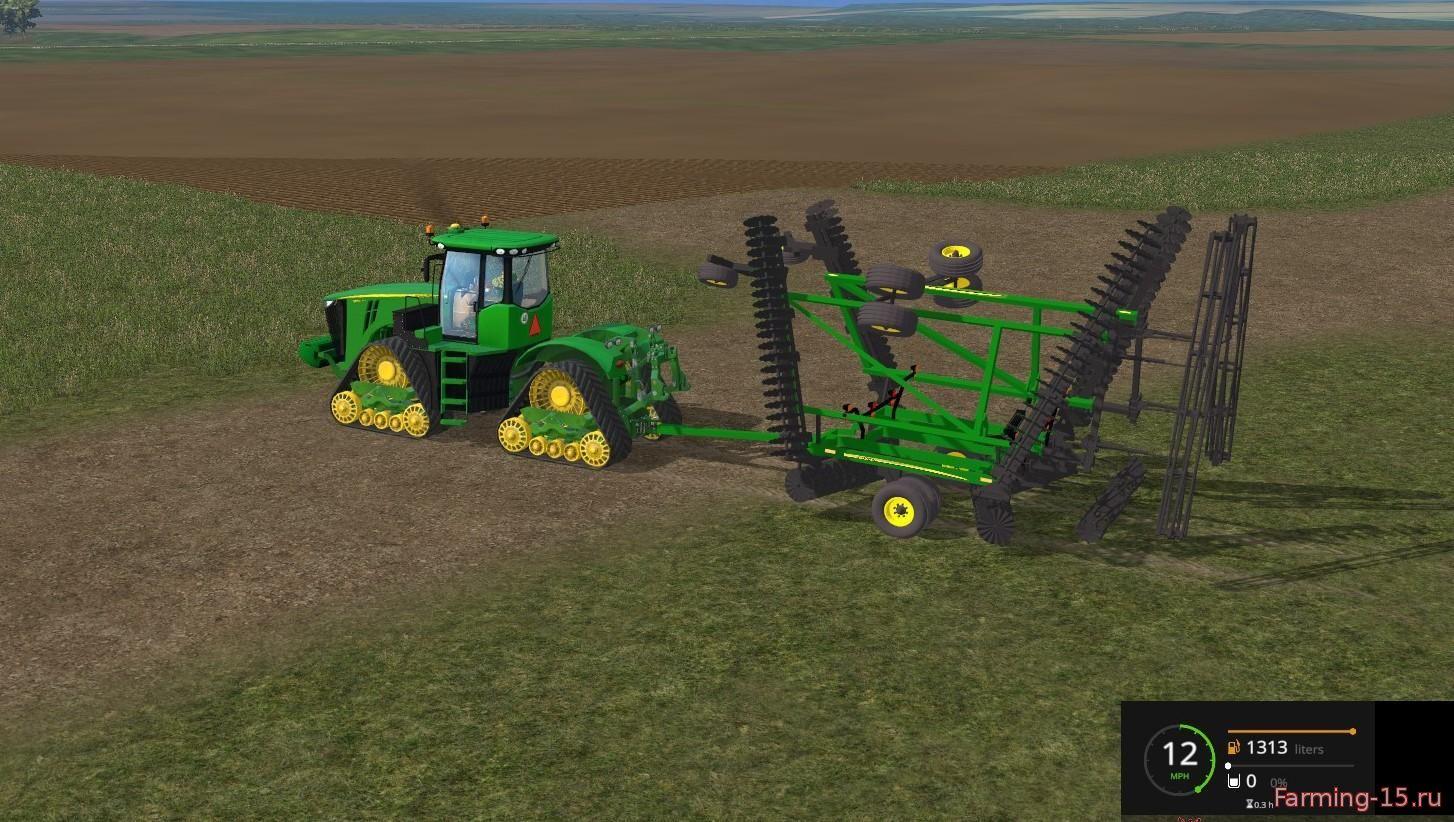 С/Х инвентарь для Мод культиватор John Deere 2623 VT для Farming Simulator 2015