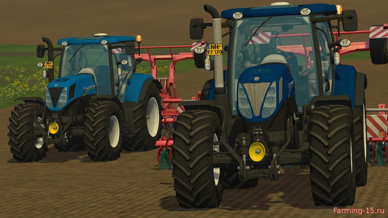 Тракторы для Мод трактор New Holland T7.170 v1.0 для Farming Simulator 2015