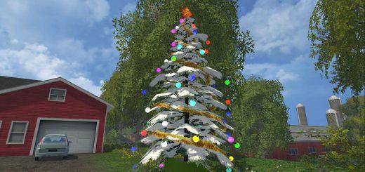 Другие моды для Мод новогодние украшение елка для Farming Simulator 2015
