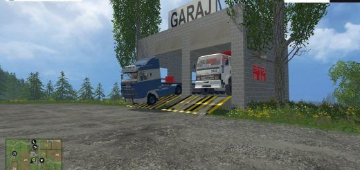 Объекты для карт для Мод гараж-мастерская для Farming Simulator 2015